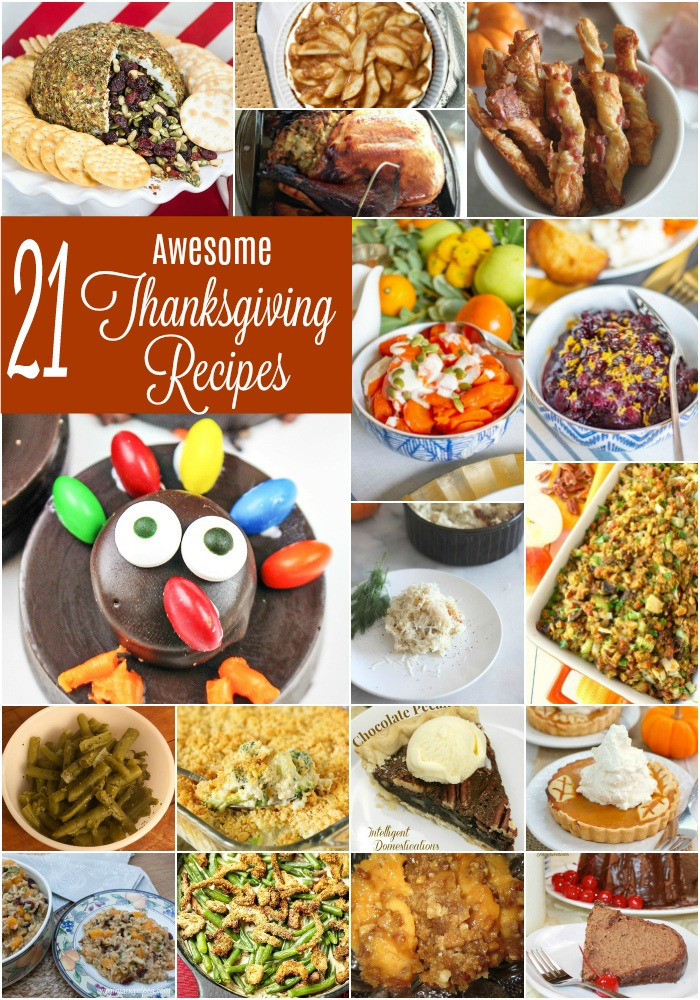 Awesome Thanksgiving Desserts  21 Awesome Thanksgiving Recipes