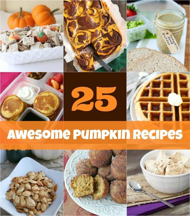 Awesome Thanksgiving Desserts  25 Pumpkin Recipe Ideas