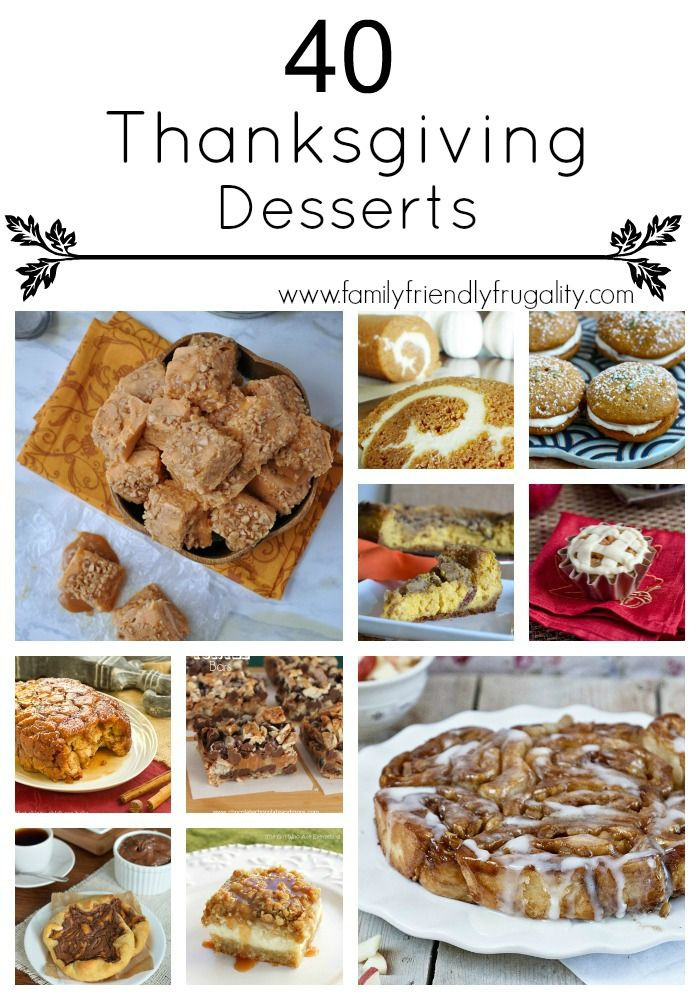 Awesome Thanksgiving Desserts  awesome Thanksgiving recipes super easy ways to impress