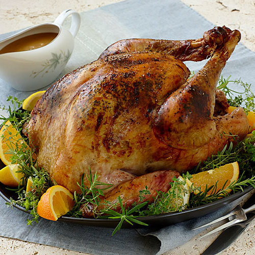 Bake Turkey Recipe For Thanksgiving  California Roast Turkey and Gravy FineCooking