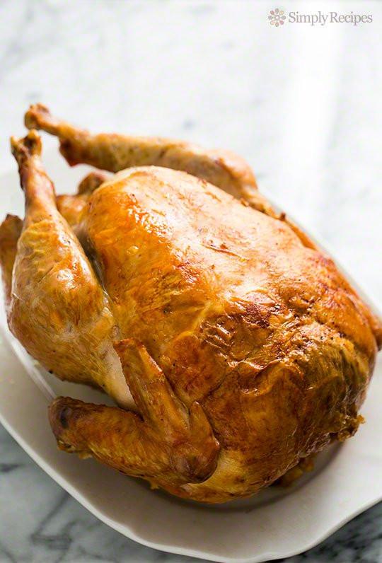 Bake Turkey Recipe For Thanksgiving  Mom's Roast Turkey Recipe A Classic