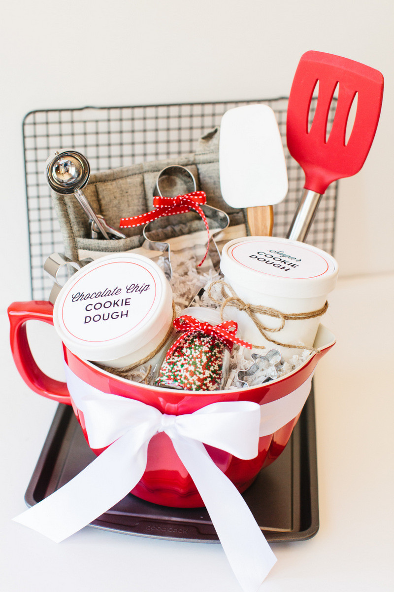 Baking Gifts For Christmas  Holiday Cookie Gift Basket