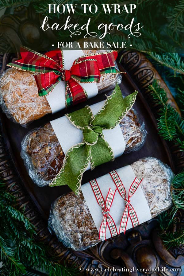 Baking Gifts For Christmas  How to Wrap Baked Goods Celebrating everyday life with