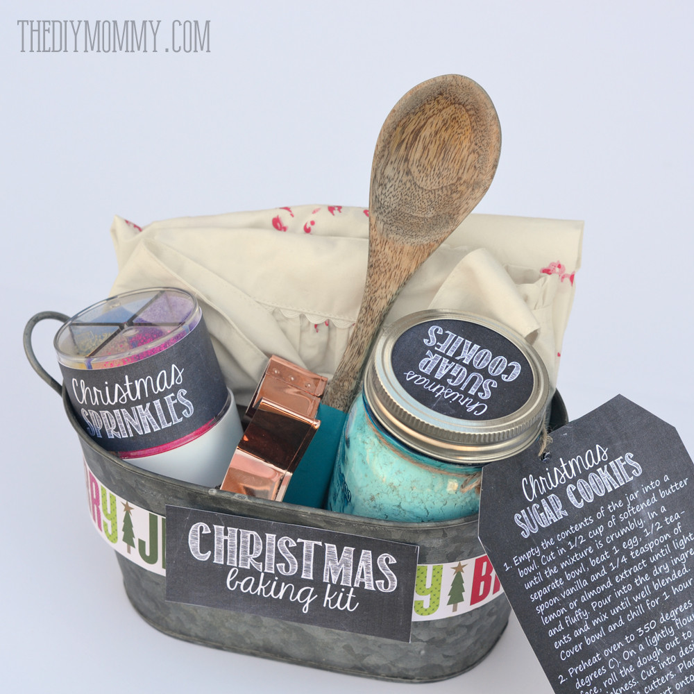 Baking Gifts For Christmas  A Gift in a Tin Christmas Baking Kit