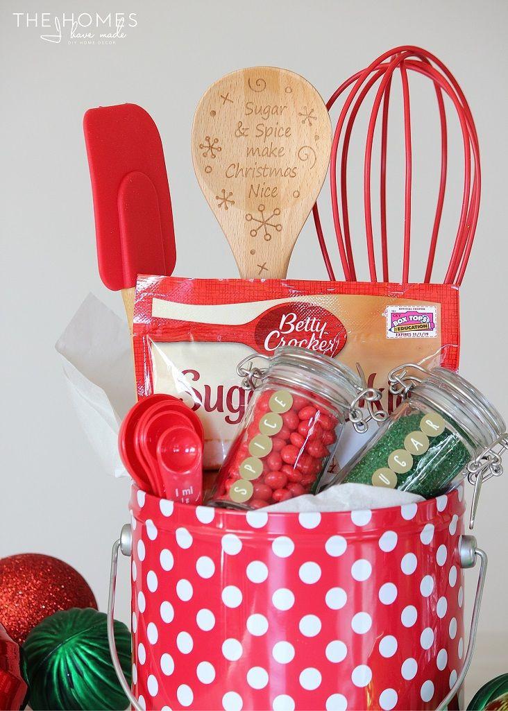 Baking Gifts For Christmas  Best 20 Baking Gift Baskets ideas on Pinterest