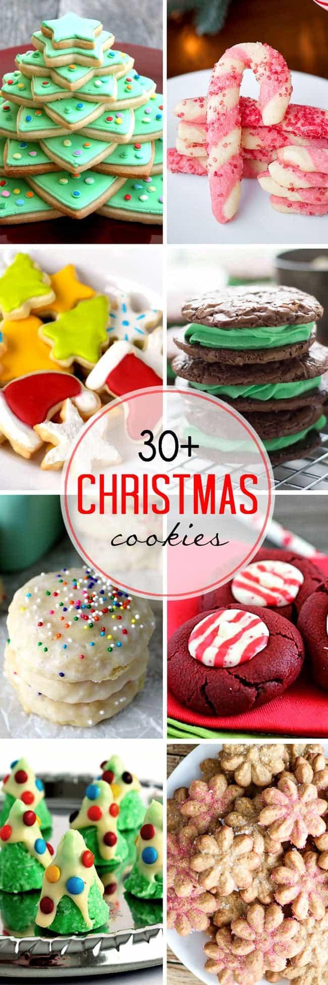 Baking Gifts For Christmas  30 Easy Christmas Cookies LemonsforLulu