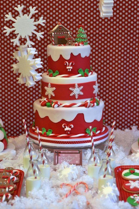 Beautiful Christmas Cakes  Christmas cakes Cakes and Christmas on Pinterest
