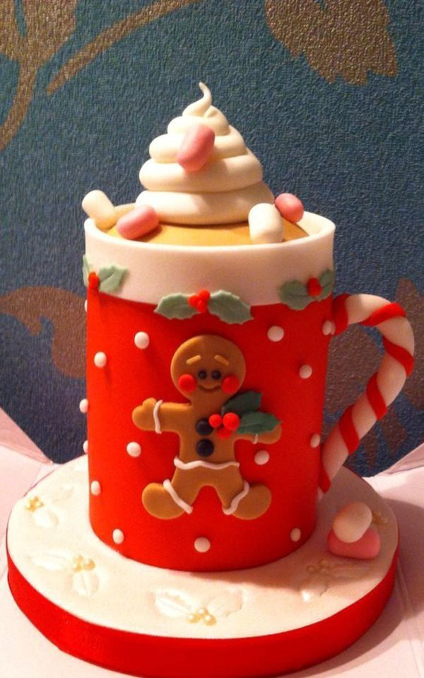 Beautiful Christmas Cakes  15 Creative Christmas Cake Decoration Ideas