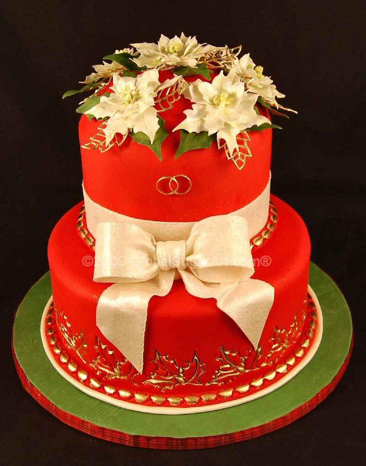 Beautiful Christmas Cakes  Beautiful Christmas Cake Cakes