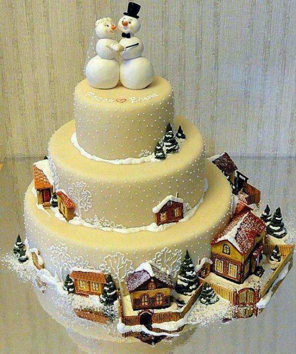 Beautiful Christmas Cakes  Holiday cake Beautiful Cakes