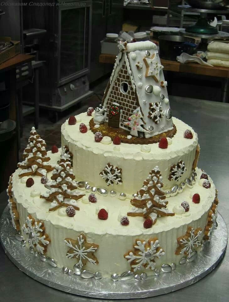 Beautiful Christmas Cakes  Beautiful Christmas Cake Cute Cake Style