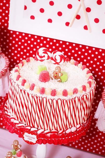 Beautiful Christmas Cakes  Beautiful Christmas Cake Decoration Let s Celebrate