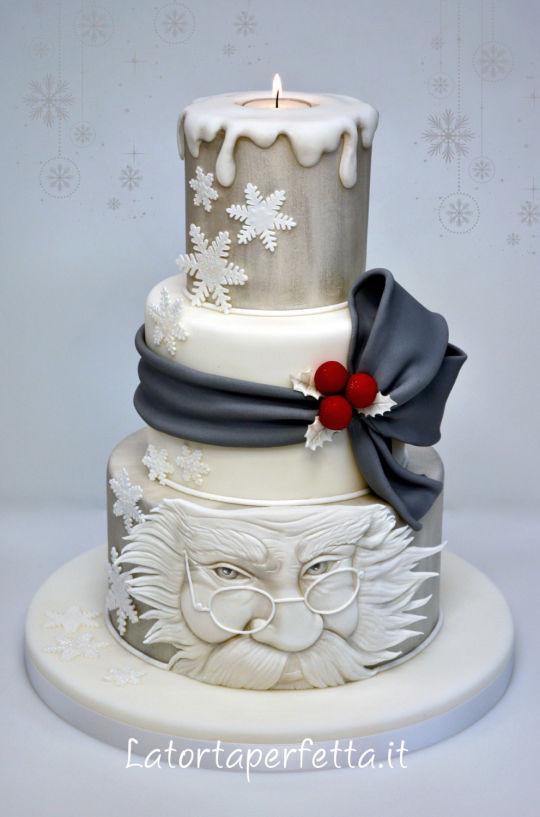 Beautiful Christmas Cakes  Santa Claus Cake by La torta perfetta CakesDecor