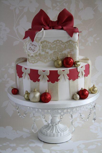 Beautiful Christmas Cakes  A beautiful Christmas cake