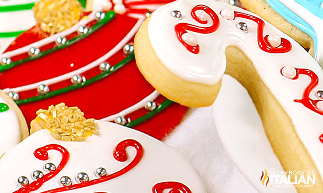 Best Christmas Cookie Icing  Best Tasting Sugar Cookie Icing With NEW VIDEO