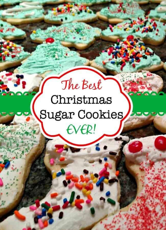 Best Christmas Cutout Cookies  The Best Christmas Sugar Cookies EVER Mom 6