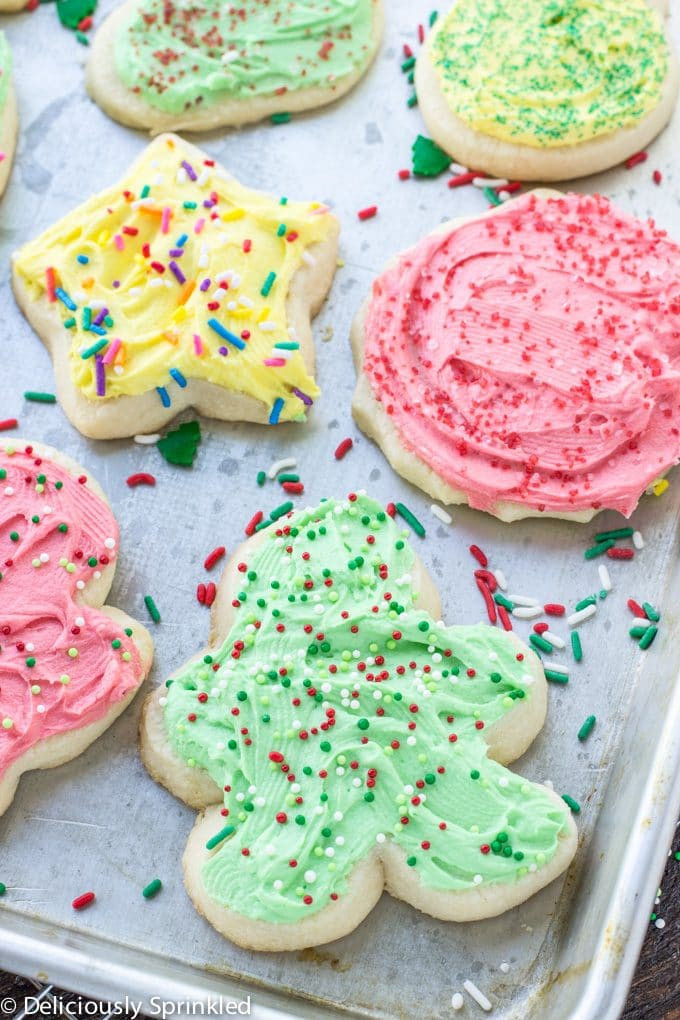 Best Christmas Cutout Cookies  The Best Sugar Cookie Frosting