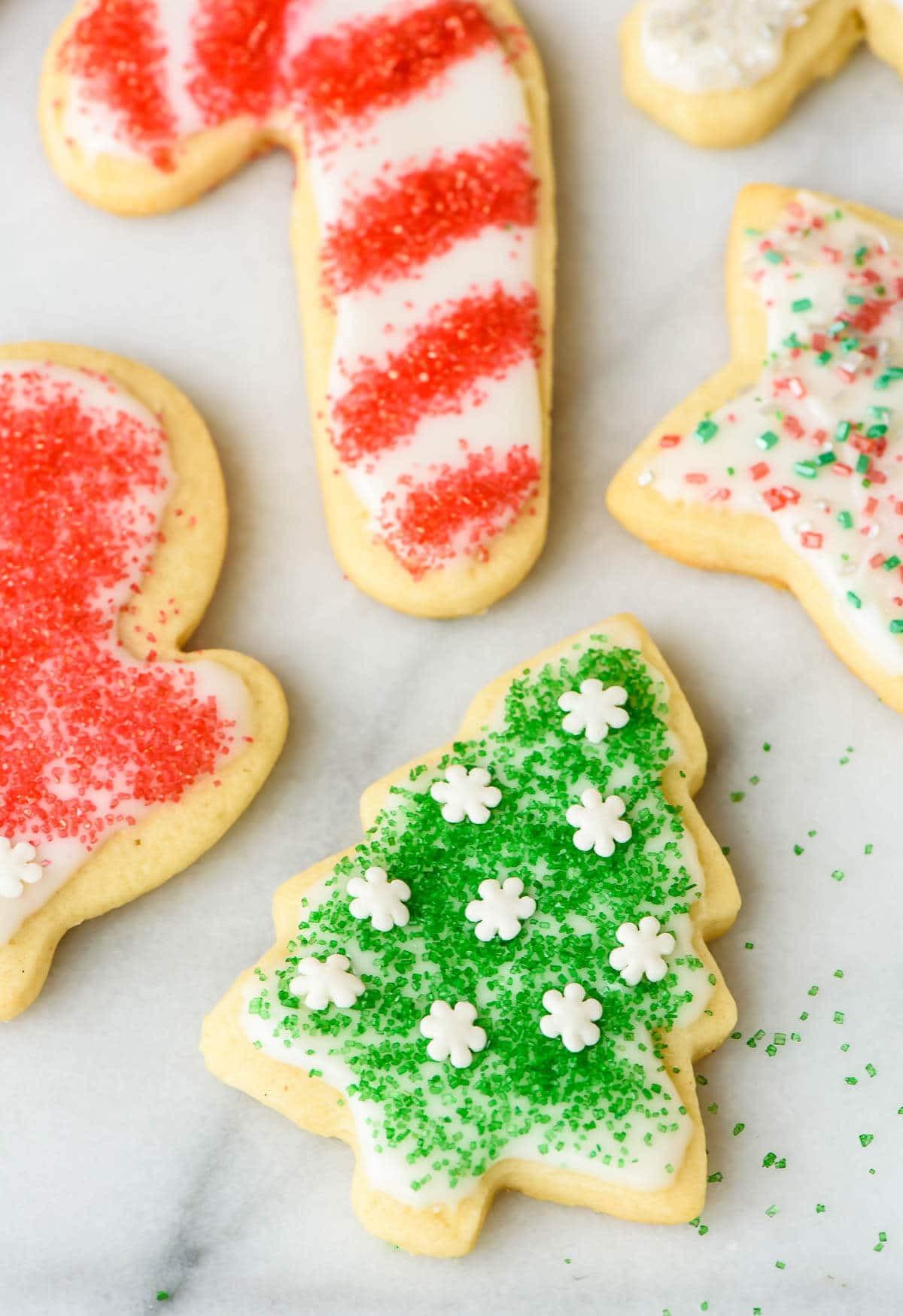 Best Christmas Cutout Cookies  Perfect Cream Cheese Sugar Cookies