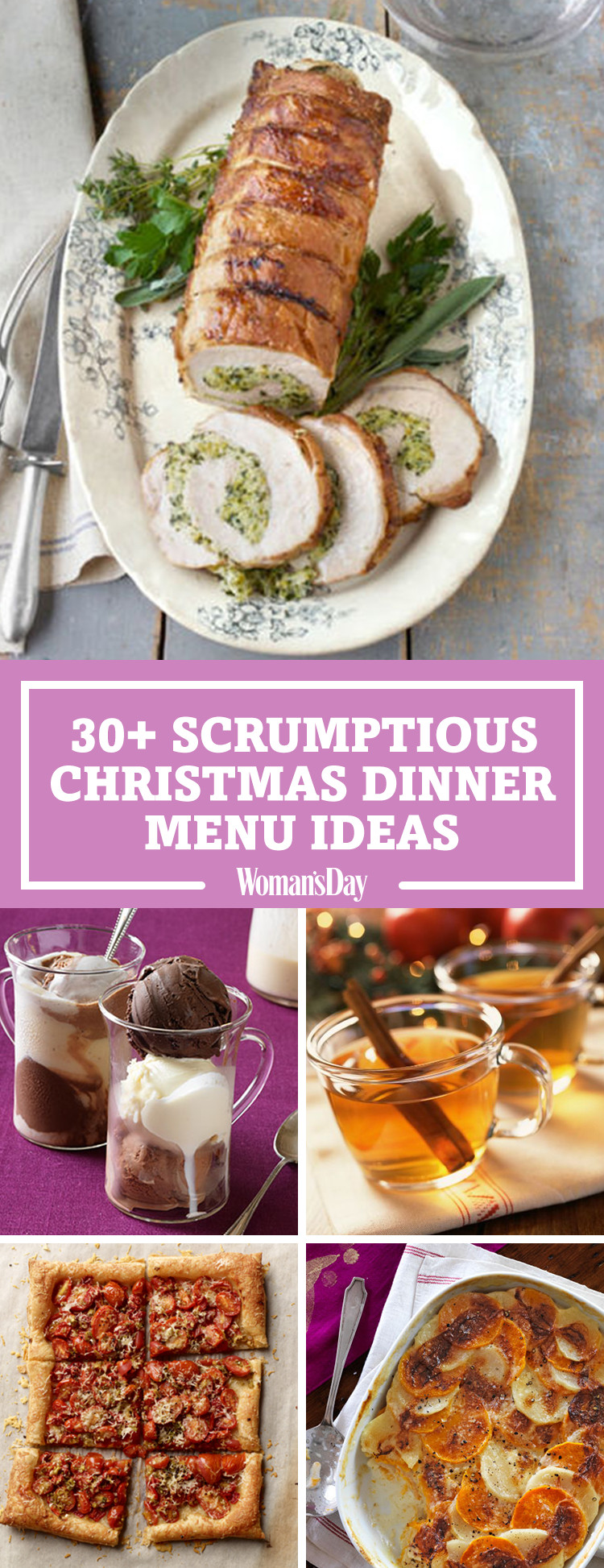 Best Christmas Dinner Recipes  Best Christmas Dinner Menu Ideas for 2017
