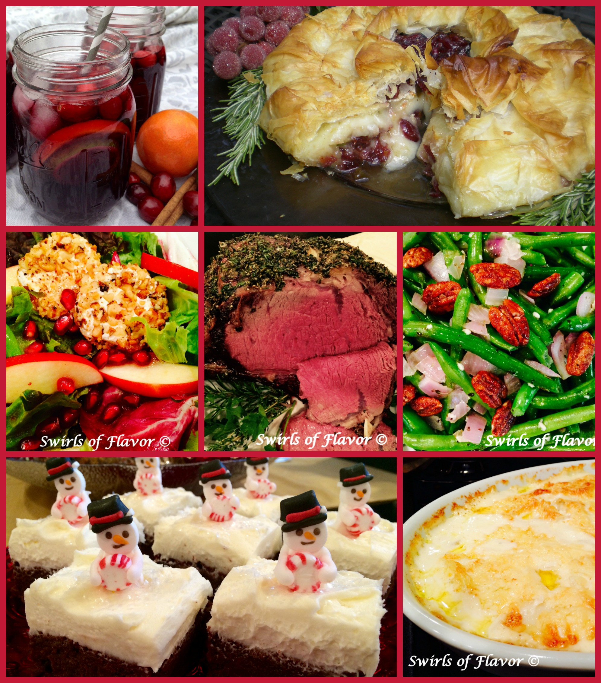 Best Christmas Dinner Recipes  Best Ever Christmas Dinner Recipes Swirls of Flavor