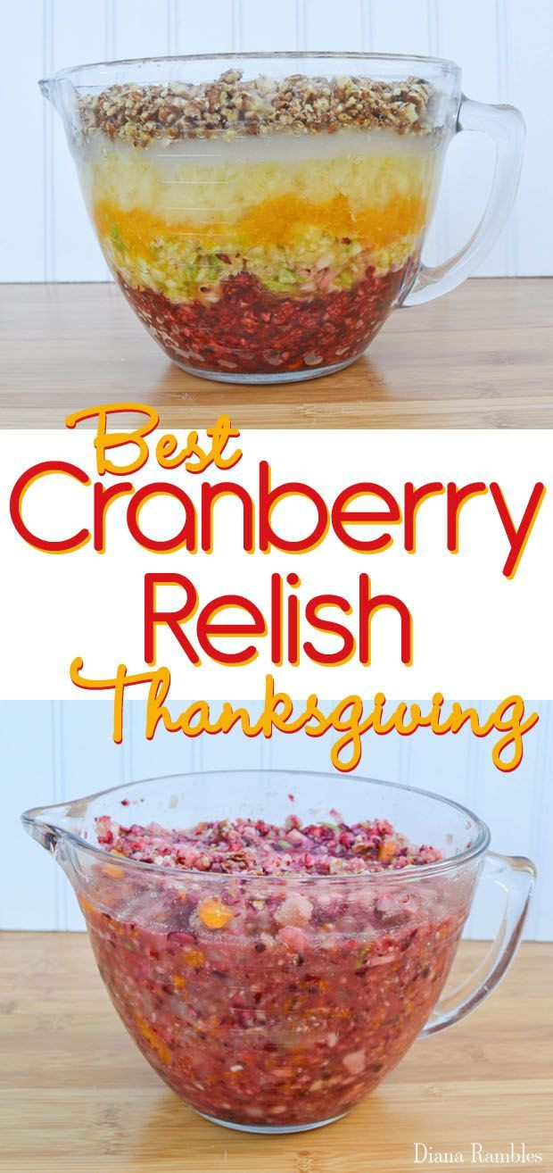 Best Cranberry Recipes Thanksgiving  Best 25 Cranberry relish ideas on Pinterest