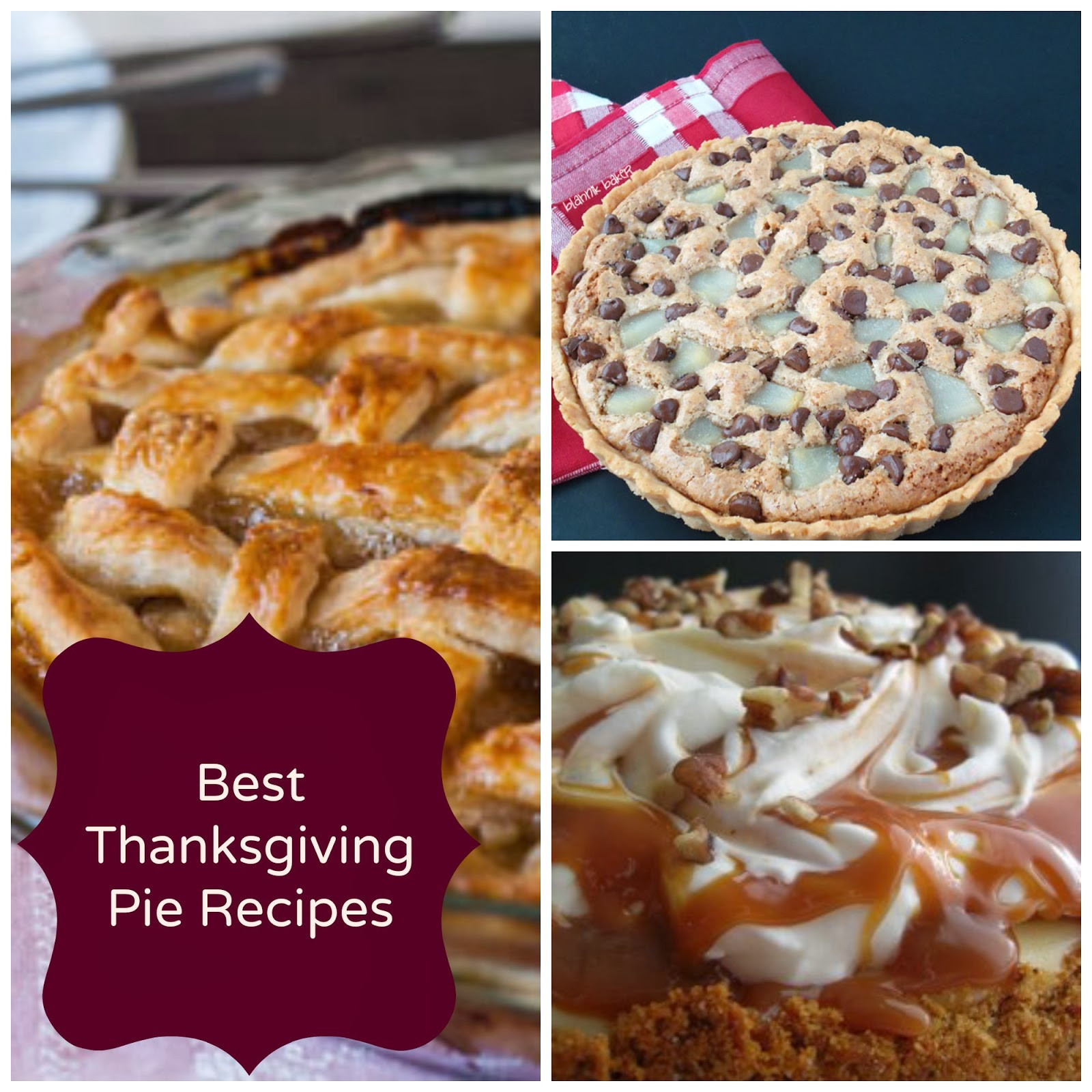 Best Pies For Thanksgiving  Decorating Pennies Best Thanksgiving Pie Recipes