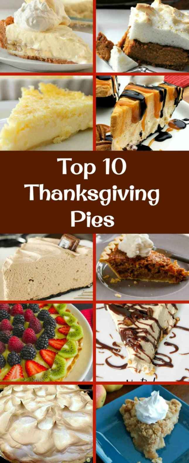 Best Pies For Thanksgiving  The BEST Top 10 Thanksgiving Pies – Lovefoo s
