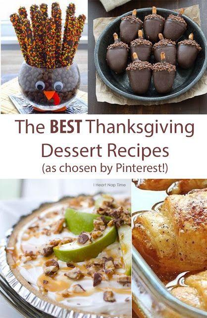 Best Thanksgiving Pie Recipes  The Best Thanksgiving Dessert Recipes iFit