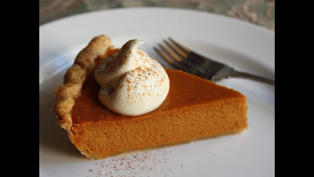 Best Thanksgiving Pies  Best Pumpkin Pie Ever Classic Thanksgiving Pumpkin Pie