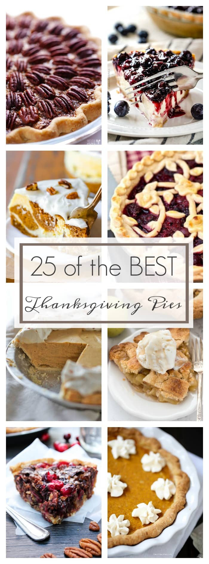 Best Thanksgiving Pies  25 of the Best Thanksgiving Pies A Dash of Sanity