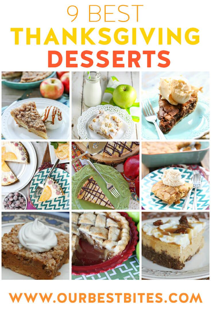Best Thanksgiving Pies  Best Thanksgiving Desserts
