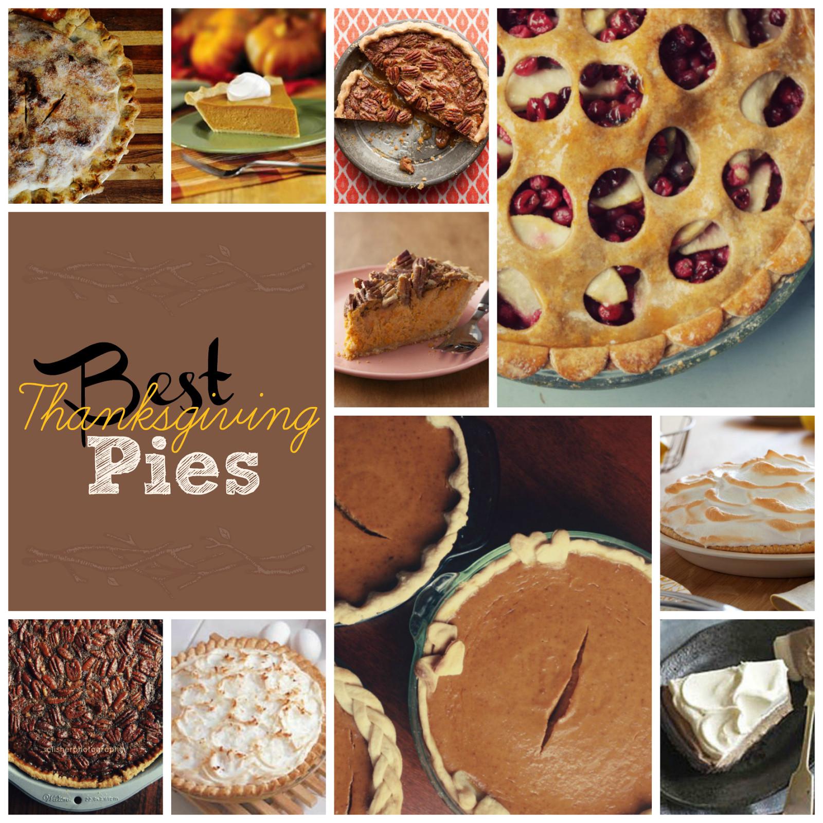 Best Thanksgiving Pies  Best Thanksgiving Pies This Girl s Life Blog