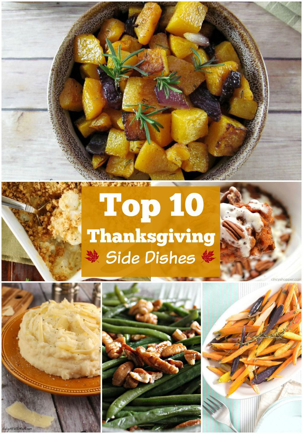 Best Thanksgiving Side Dishes Ever  10 BEST Thanksgiving Side Dishes