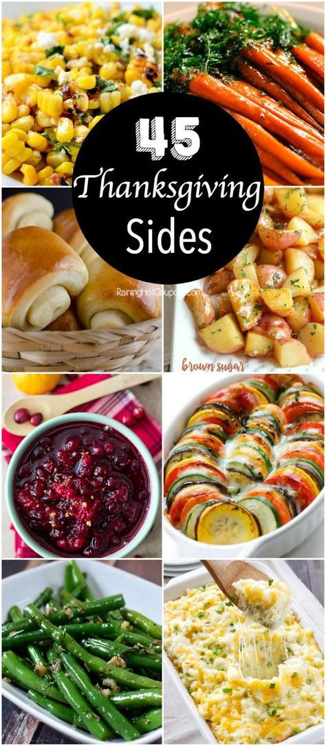 Best Thanksgiving Side Dishes Ever  The 45 best Thanksgiving side dishes you ll want to make
