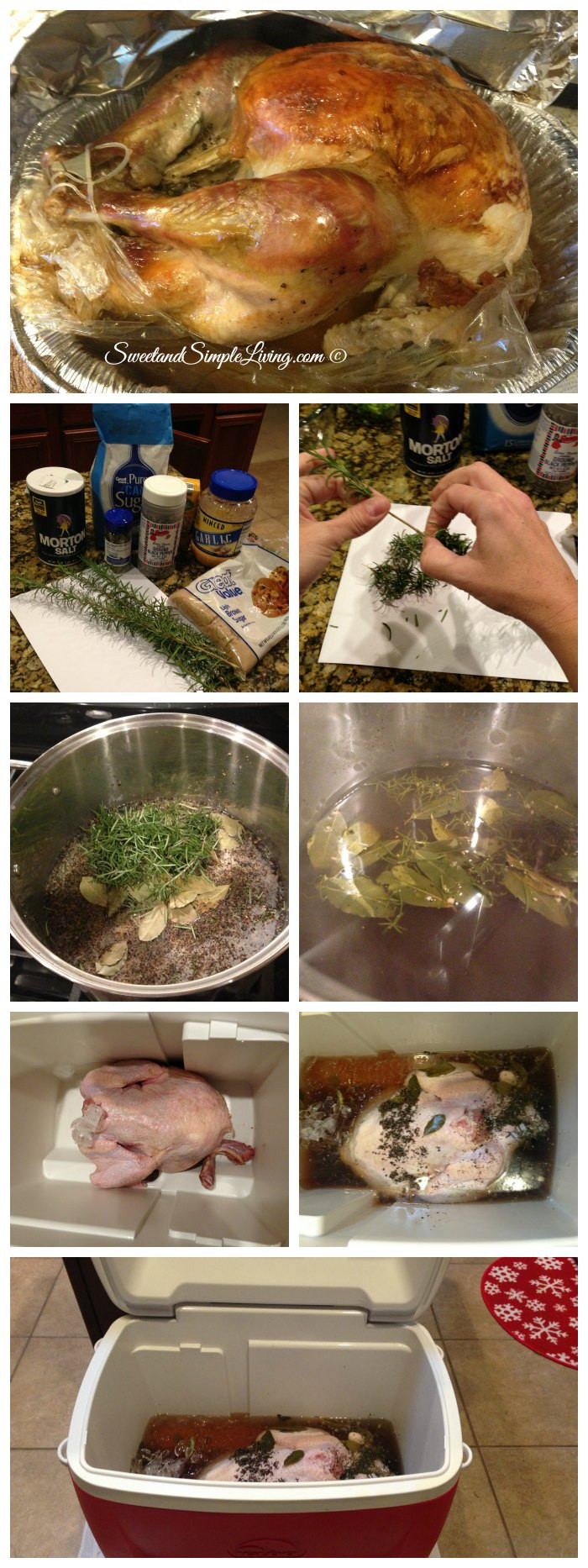 Best Thanksgiving Turkey Recipes  Best Turkey Brine Recipe Sweet and Simple Living