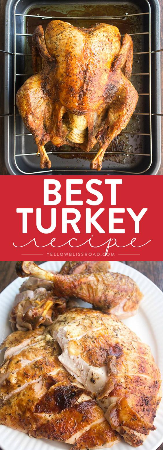 Best Thanksgiving Turkey Recipes  Best Thanksgiving Turkey Recipe How to Cook a Turkey