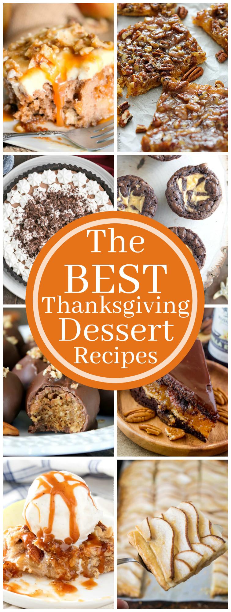 Best Thanksgiving Turkey Recipes  The Best Thanksgiving Dessert Recipes Tornadough Alli