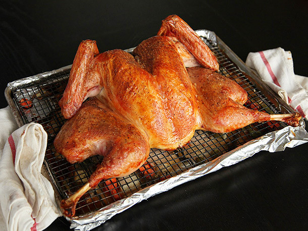 Best Turkey Brand For Thanksgiving  How to Cook a Spatchcocked Turkey The Fastest Easiest
