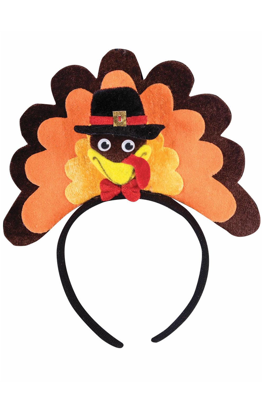 Best Turkey Brand For Thanksgiving  Brand New Thanksgiving Turkey Headband Costume Accessory