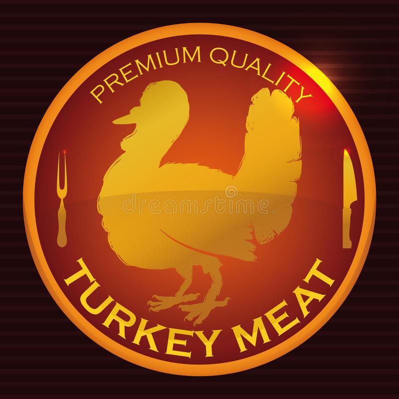 Best Turkey Brand For Thanksgiving  Fine Premium Brand Thanksgiving Turkey Vector