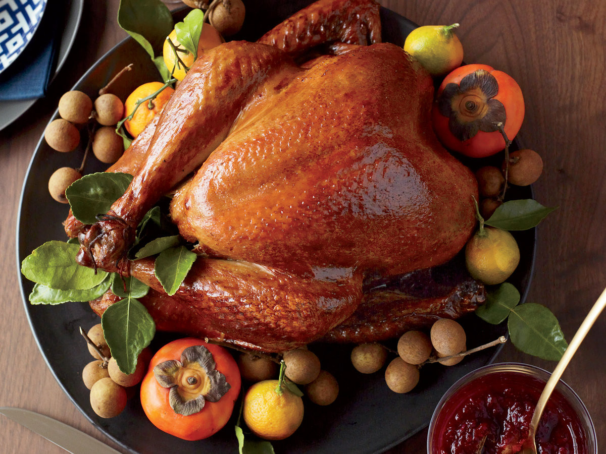 Best Turkey Brand For Thanksgiving  Soy Sauce and Honey Glazed Turkey Recipe Joanne Chang