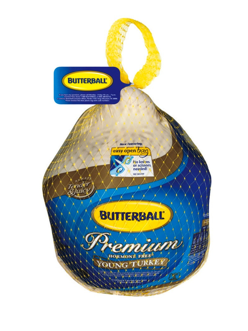 Best Turkey Brand For Thanksgiving  Butterball Partners with Brands for Gold Standard Thanksgiving