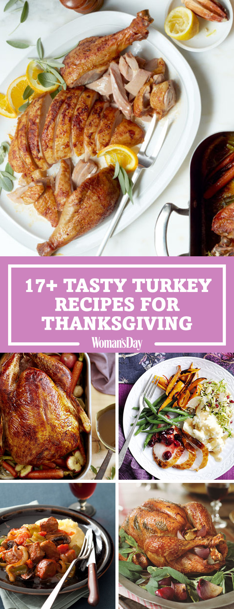 Best Turkey Recipes For Thanksgiving  20 Best Thanksgiving Turkey Recipes Easy Roast Turkey