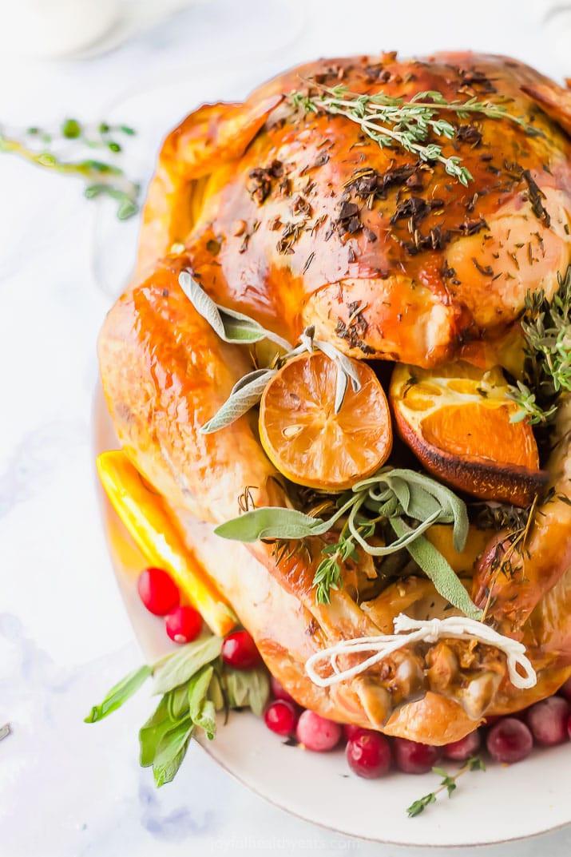 Best Turkey Recipes Thanksgiving  The Best Thanksgiving Turkey Recipe No Brine