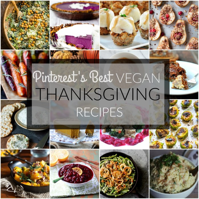 Best Vegan Thanksgiving Recipes  Pinterest's Best Vegan Thanksgiving Recipes – Tedi Sarah