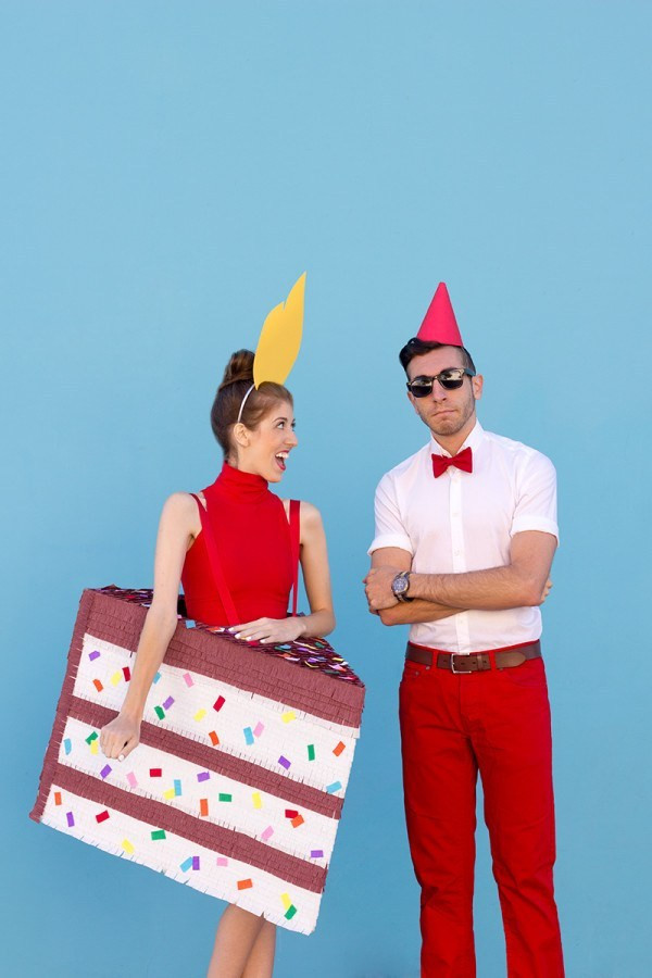 Birthday Cake Halloween Costume  50 Couples Halloween Costume Ideas Oh My Creative