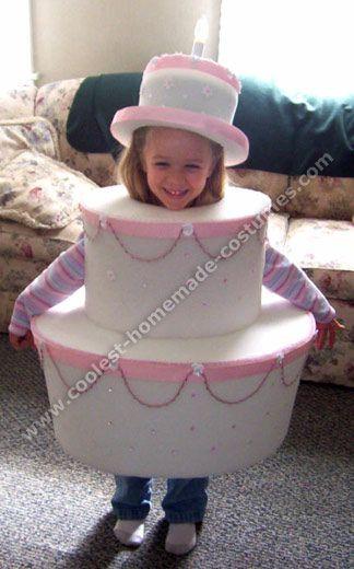 Birthday Cake Halloween Costume  Coolest Homemade Halloween Costume Ideas Holidays