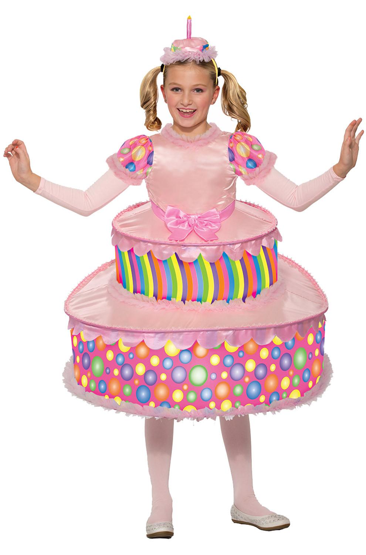Birthday Cake Halloween Costume  Birthday Cake Child Costume PureCostumes