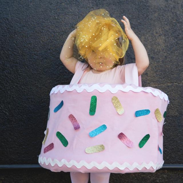 Birthday Cake Halloween Costume  DIY Halloween Costume Birthday Cake The Effortless Chic