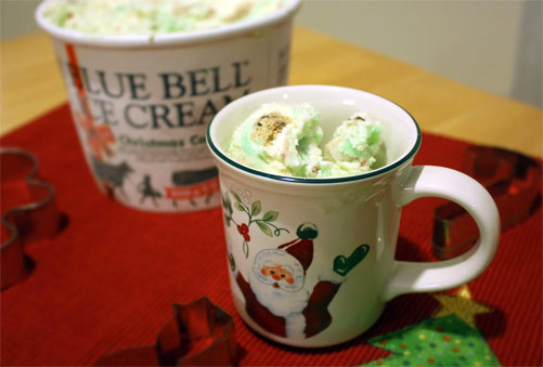 Blue Bell Christmas Cookies  Second Scoop Ice Cream Reviews Blue Bell Christmas